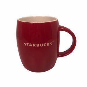 Starbucks red coffee mug